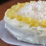 torta od ananasa i piskota