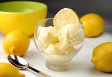 sladoled od limuna recept