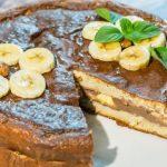 Proteinska torta sa bananama
