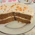 Torta za dijabetičare od šargarepe